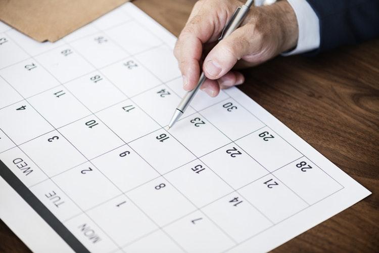 Calendario laboral 2019.