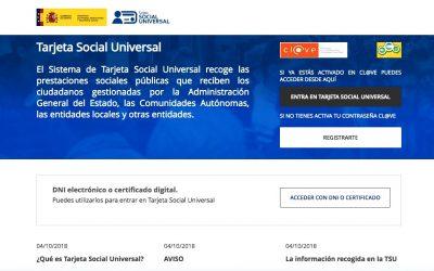 Qué es la Tarjeta Social Universal